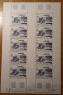 TAAF Feuilles Entières Avec Coin Datés 1986-1987 PA98 - Unused Stamps