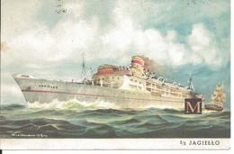 S/S Jagiello - Gdynia America Line - Fratelli Cosulichi - Steamers