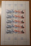 TAAF Feuilles Entières Avec Coin Datés 1988-1989 PA106 - Neufs