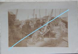 Photox4 BOEZINGE Bij Elverdingen Ruines Lance Grenades 1ère Ligne Tranchée ABL 1914-18  Belgische Leger Ijzer  Militaria - Krieg, Militär