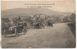 63 COUPE GORDON BENNET (1905) -  Sortie Du Village De Massagettes - Non Classés