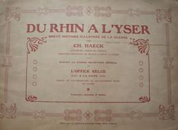 ALBUM 99 Chromos ABL 1914-18 Du Rhin à L'Yser 1922 Chromos Complet - Ohne Zuordnung
