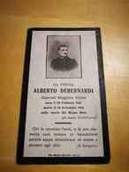 SANTINO RICORDO LUTTINO WW1 SOLDATO BIELLA BIELLESE PRATRIVERO TRIVERO - Imágenes Religiosas