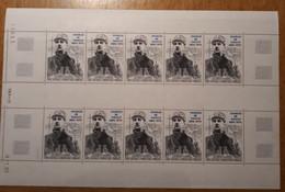 TAAF Feuilles Entières Avec Coin Datés 1989-1990 PA118 - Unused Stamps