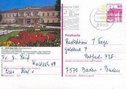 84551) BRD - P 138 R2/29 - 2300 ⨀ A-4540 Bad Hall, Kurhaus Im Kurzentrum - Postales Ilustrados - Usados