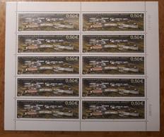 TAAF Feuilles Entières Avec Coin Datés 2003-2004 393 - Unused Stamps