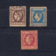 Rumania 1872. Príncipe Carlos. Serie Completa - 1858-1880 Moldavia & Principality