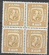 Iceland Mh * And Mnh ** (2 Stamps) 20 Euros 1915 - Unused Stamps