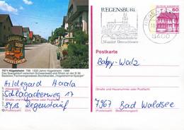 84557) BRD - P 138 - R3/37 - 8400 ⨀ 7571 Hügelsheim, Ortsansicht - Postales Ilustrados - Usados