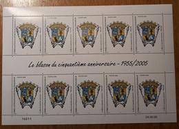 TAAF Feuilles Entières Avec Coin Datés 2005-2006 429 - Unused Stamps