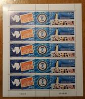 TAAF Feuilles Entières Avec Coin Datés 2006-2007 469 470 (70% Faciale) - Unused Stamps