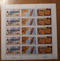 TAAF Feuilles Entières Avec Coin Datés 2010-2011 591 592 593 (70% Faciale) - Unused Stamps