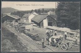 CPA 88 - La Trouche, Scierie De La Trouche - Les Vosges Pittoresques - Autres Communes