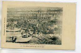 13 MARSEILLE 1900 Le Président KRUGER Afrique Du Sud En Visite Le Débarcadere Vue De La Mer  No 9 Lacour    D09 2017 - Otros