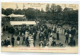 49 SAUMUR Courses Chevaux De VARRAINS Le Pari Mutuel Et Le Paddock   No 99 Voelcker Photo  -1903   D09 2020 - Saumur