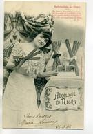 79 NIORT Jeune Fille Vendeuse De L'Angélique De Niort Spécialités Du Pays  écrite En 1904    D09 2020 - Niort