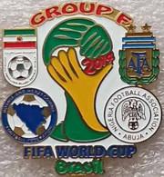 Pin FIFA 2014 Group F Argentina Nigeria Bosnia And Herzegovina Iran - Calcio