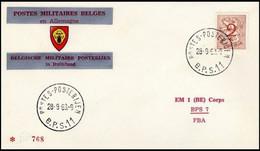 Enveloppe / Envelop / Briefumschlag / Envelope - FBA - BPS11 - Militares (Sellos M)