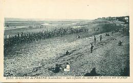 - Calvados -ref-G425- Saint Come De Fresné - St Come De Fresné - Plage - Camp Vacances -edit. Riviere Bureau N°2930 - Andere Gemeenten