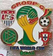 Pin FIFA 2014 Group G USA Ghana Portugal Germany - Calcio