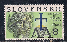 SLOVAQUIE     N°   141   OBLITERE - Usados