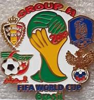 Pin FIFA 2014 Group H Belgium South Korea Russia Algeria - Calcio