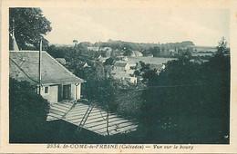 - Calvados -ref-G422- Saint Come De Fresné - St Come De Fresné - Vue Sur Le Bourg - Edit. Riviere Bureau N°2934 - - Andere Gemeenten