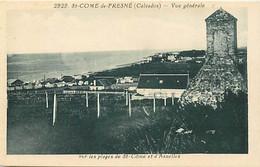 - Calvados -ref-G421- Saint Come De Fresné - St Come De Fresné -plages St Come Et Aneslles -edit. Riviere Bureau N°2929 - Andere Gemeenten