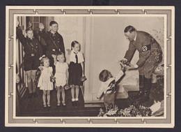 Deutsches Reich Propaganda Ganzsache 50. Geburtstag Hitler Kindegruppe P 278 04 - Non Classificati