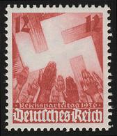 633 Nürnberger Parteitag 12 Pf ** - Sin Clasificación