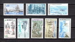 Mónaco    1977    Y&T Nº     1103/1109-1111 - Used Stamps