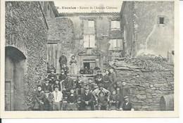6 - ESCALES - ENTREE DE L'ANCIEN CHATEAU ( Animées ) - Sonstige Gemeinden