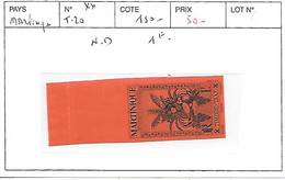 MARTINIQUE N° TAXE 20 ** ND - Timbres-taxe