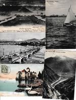 N 63  Lot 100 CPA Différentes De Suisse - 100 - 499 Cartoline