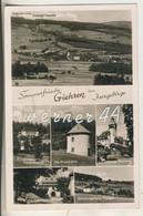Giehren Im Isergebirge V. 1935 Dorf,Kesselschloß,Windmühle,Kurhaus,Berghotel Kesselschloßbaude,Förstel   (13060) - Schlesien