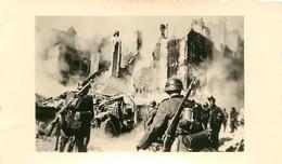 DUNKERQUE  1940 PHOTO ORIGINALE J. LOSFELD MALO LES BAINS FORMAT 11 X 6.50 CM - Guerra, Militares