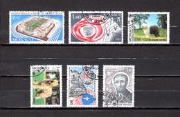 Mónaco    1982    Y&T Nº     1327-1328-1329/1330-1331-1332 - Used Stamps