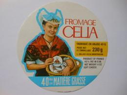 A-49160a - étiquette De Fromage CELIA - MONTFAUCON Maine Et Loire 49G - Formaggio