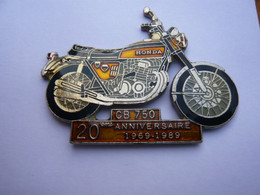Big Pin S MOTO HONDA CB 750 2 Attaches - Moto