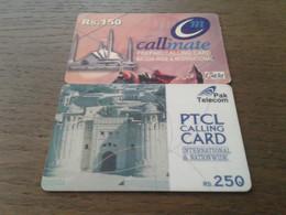 Pakistan  -  2 Nice Phonecard - Pakistan