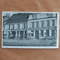 Auvillers Les Forges Hostellerie  Lenoir +graines  Café  De La Paix Joli Dépliant - Unclassified