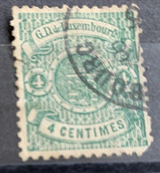 Luxembourg 1874/80  Y Et T 28  O - 1859-1880 Coat Of Arms