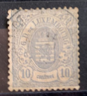 Luxembourg 1874/80  Y Et T 30a  O - 1859-1880 Coat Of Arms