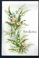 Carte Postale à Système - Muguet - Porte Bonheur - Dreh- Und Zugkarten