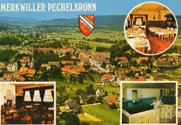 MERKWILLER PECHELBRONN -SOULTZ SOUS FORETS - 67 - Hôtel Engel Et Vue Generale - 74994 - Other Municipalities