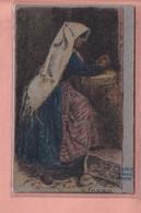 OLD POSTCARD -  ARTIST SIGNED - CASCELLA - TYPES ABRUZZE - - IL FARRO - Other Illustrators