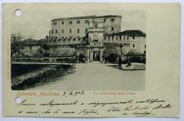 FALCONARA MARITTIMA (ANCONA) - Un Saluto Dalla Rocca Priora (Buchi A Sinistra) - Other Cities