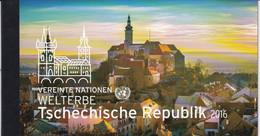 2016 UNO Wien Mi. MH 19 **MNH UNESCO-Welterbe: Tschechische Republik. - Markenheftchen