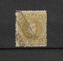Espagne 1901/05 N°220  Yvert&Tellier Oblitéré - Ungebraucht