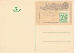 B01-333 Entier Postal Carte Postale CA BK 1  Centenaire De La Première Carte Postale De Belgique Correspondance - Tarjetas Ilustradas